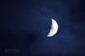 [月景色]霞月