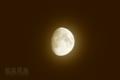 [月景色]セピア色の月