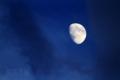 [月景色]暮月(台風前夜)