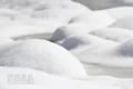 [風景]休耕田雪化粧