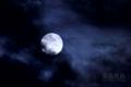 [月景色]梅雨望月
