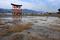 厳島神社大鳥居(干潮)