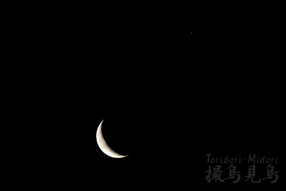 moon&sturn20190302_0511