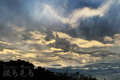 [風景]不思議な雲模様