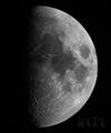 [天体]moon20191105_205329BW