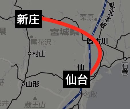 リゾートみのり運転路線図