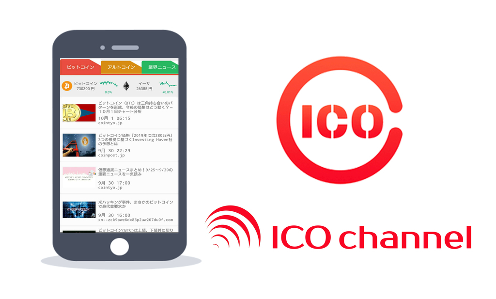 ICOchannelとは