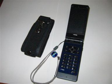 変更後の携帯電話。