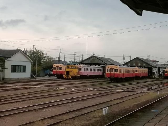 小湊鐵道 五井駅 車庫