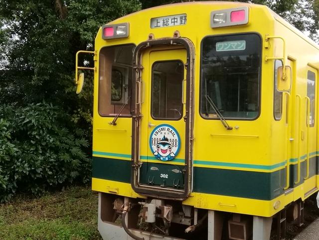 上総中野駅にていすみ鉄道側