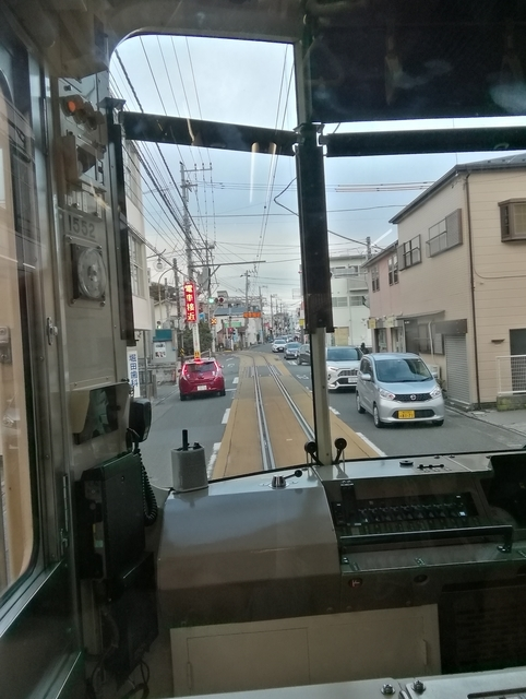江ノ電路面電車区間