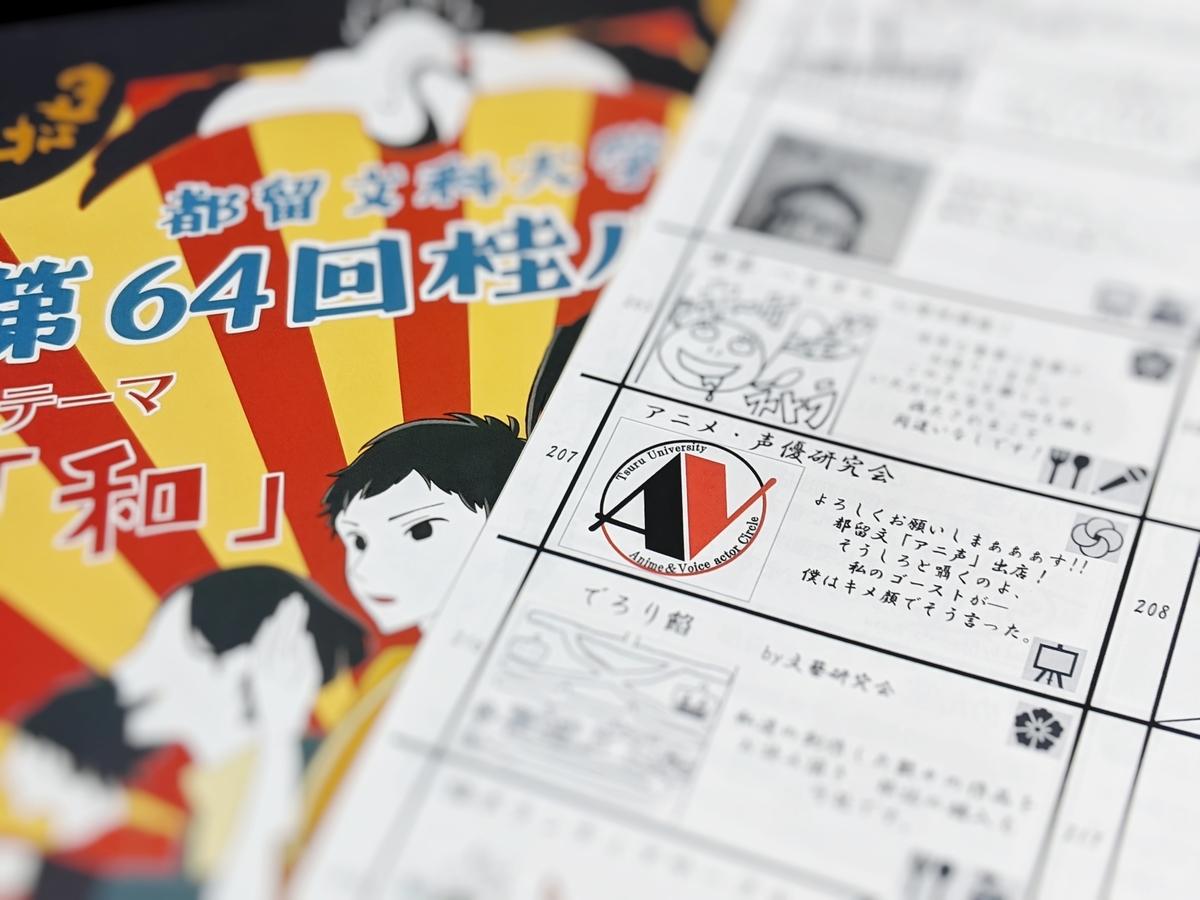 都留文科大学・桂川祭・アニメ声優研究会
