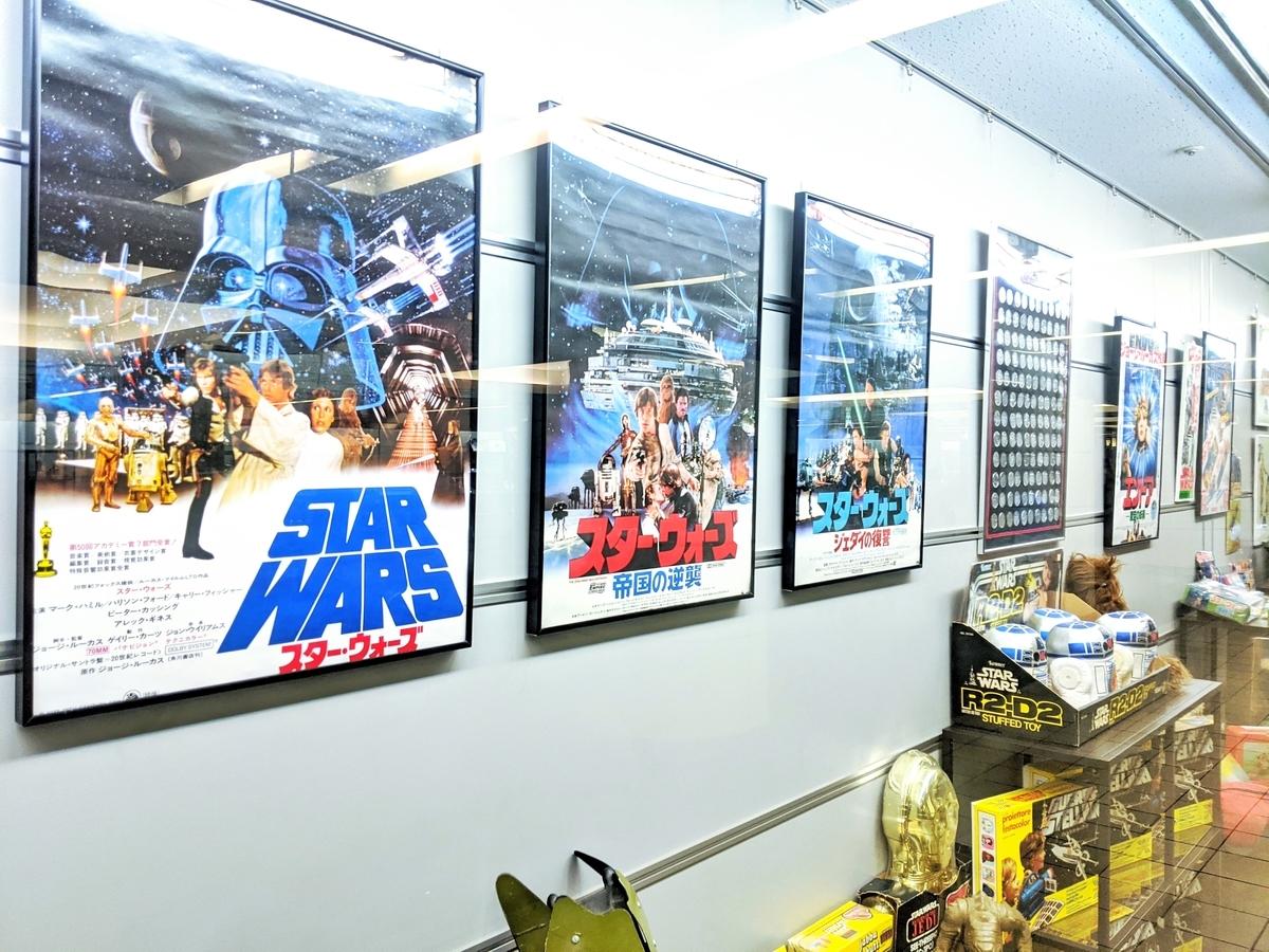 『STAR WARS』のポスター