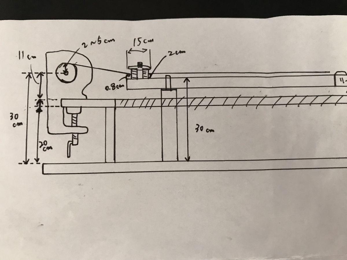 糸巻き台イメージ