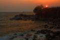 京都新聞写真コンテスト 由良海岸の朝日