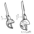 [六命]パセリの武器「シリンジサーベル」