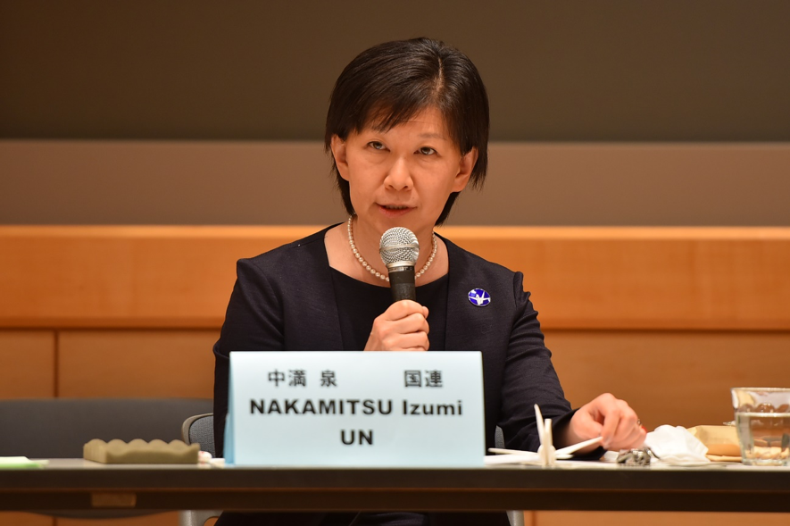 国連 軍縮 担当 上級 代表 の 中 満 泉 事務 次長