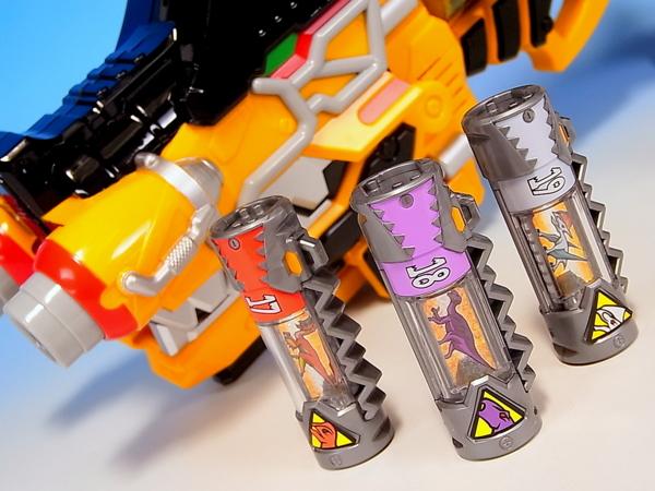 獣電戦隊キョウリュウジャー 獣電池セット01 レビュー Yoの玩具箱