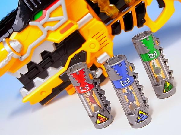 獣電戦隊キョウリュウジャー 獣電池セット02 レビュー Yoの玩具箱