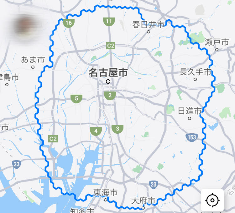 DiDiFood愛知(名古屋)の配達エリア