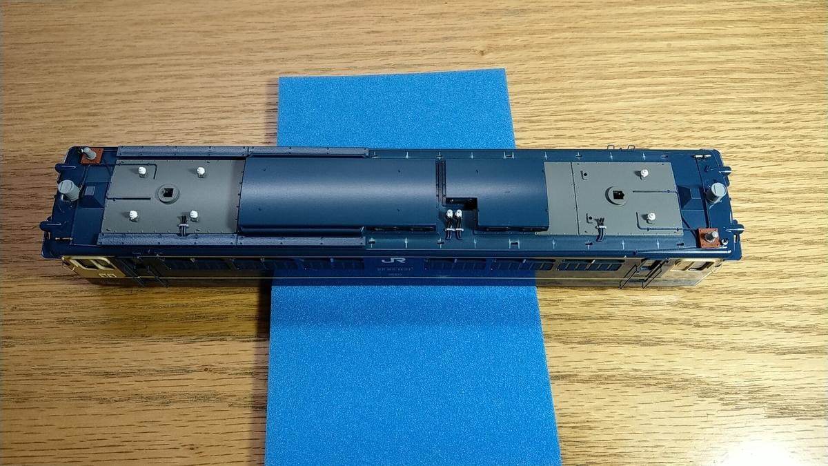 EF65-1131 塗りなおし完了