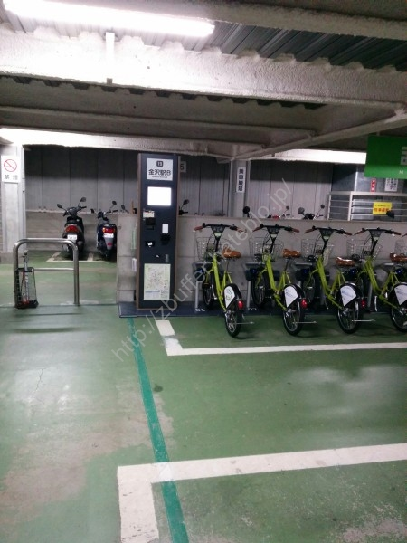金沢駅 レンタル自転車貸出施設1