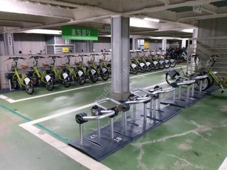 金沢駅 レンタル自転車貸出施設2