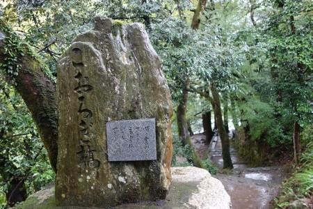 こおろぎ橋と書かれた石碑