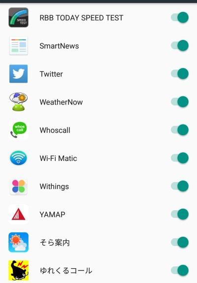 Android 6.0 アプリのプライバシー設定詳細