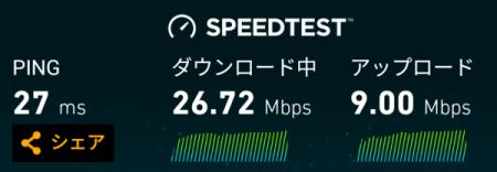 ワイモバイルの通信速度