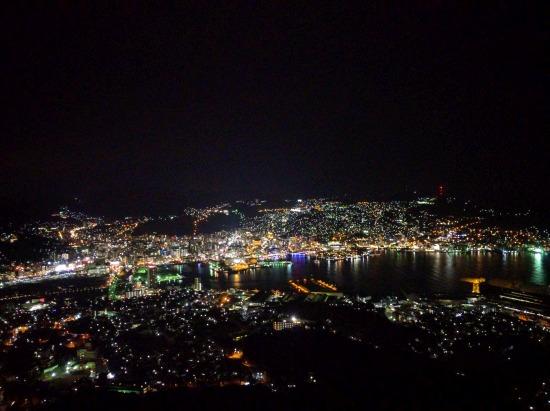 スマホ(Nexus5X)で撮影した長崎の夜景