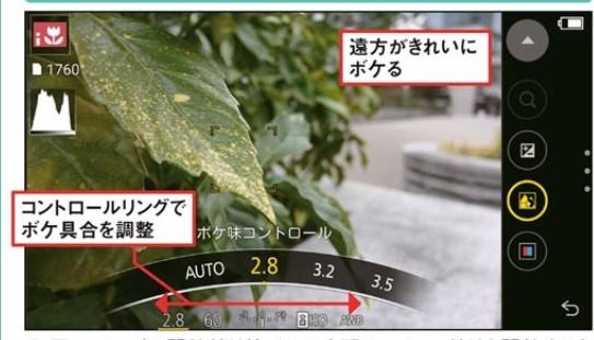 AndroidスマホCM10コントロールリング
