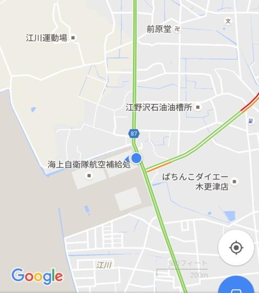 江川海岸の最寄バス停(江川)場所