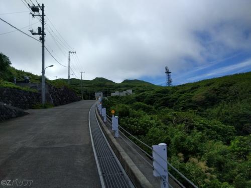 青ヶ島の道