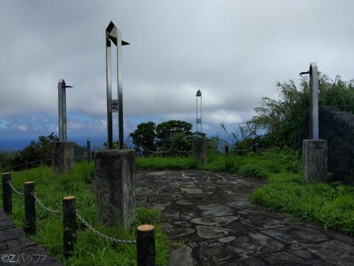 尾山展望公園の謎のオブジェ