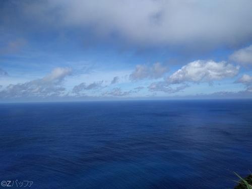 神子の浦展望広場からの海の眺め