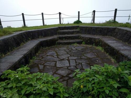 青ヶ島の最大標高部である大凸部