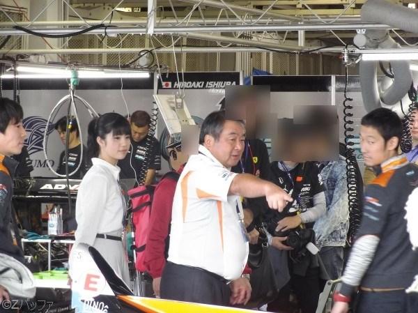梅本まどかさんと浜島裕英さんとのセルモインギングガレージ見学