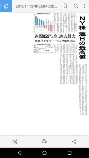日経テレコンでは日経新聞の紙面も観ることが可能