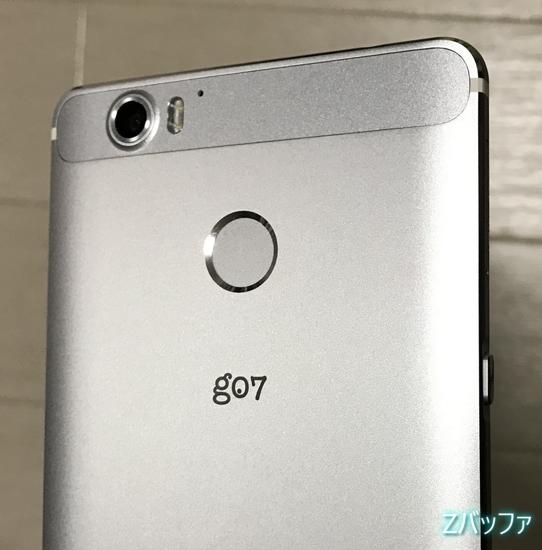 g07の指紋認証センサー