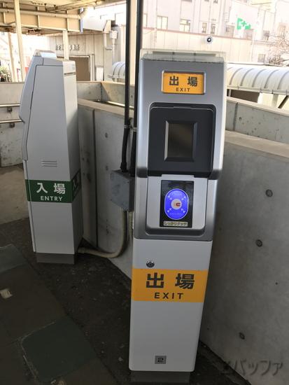 海芝浦駅構内の簡易Suica入出場機