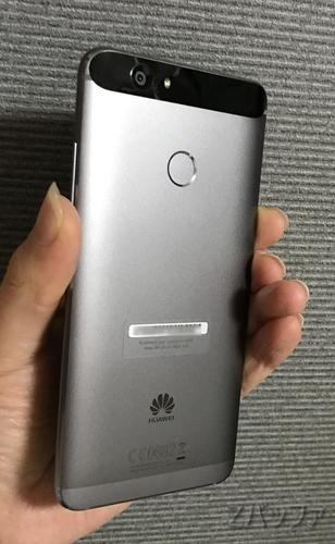 Nexus6Pそっくりなnovaの背面デザイン