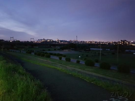 Galaxy S8による夜景写真