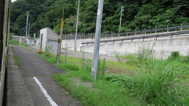 早戸駅の新しい駅舎