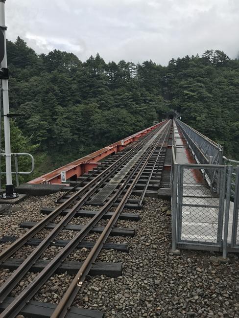 井川駅方面のレインボーブリッジ