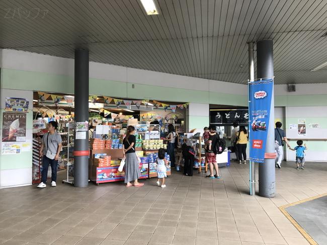 千頭駅の様子