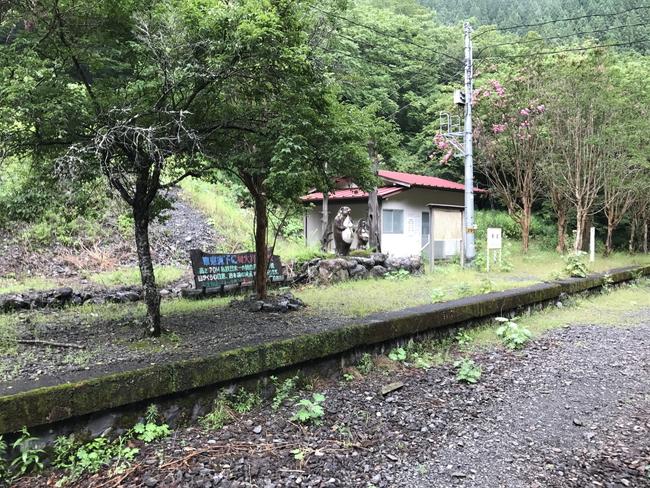 秘境駅の尾盛駅