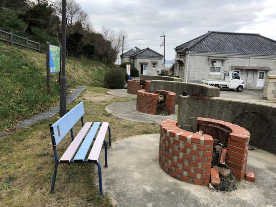 男木島灯台キャンプ場