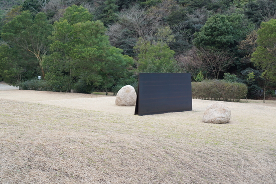 李禹煥美術館の作品