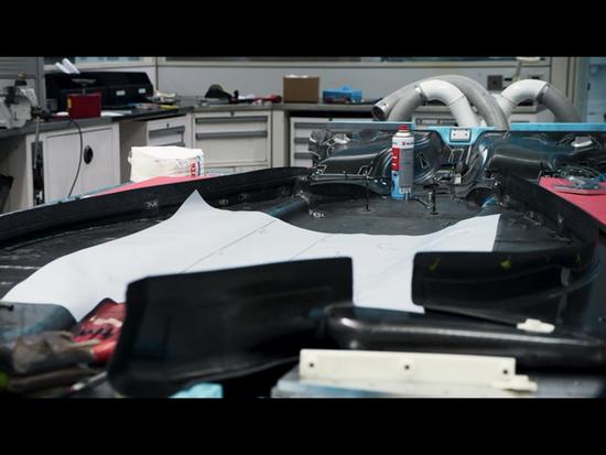 マクラーレンF1マシンのフロア